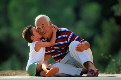 Дарение внуку