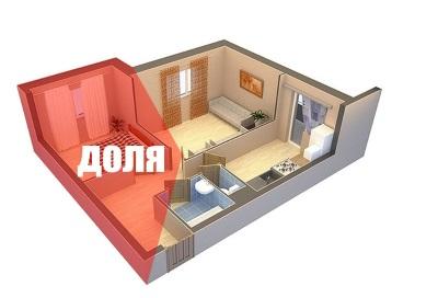 Доля квартиры-дарение