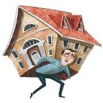 Прописка в квартиру с долгом