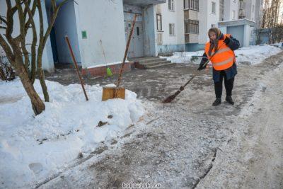 Обязанности дворника по уборке придомовой территории